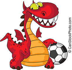 Dragón y pelota