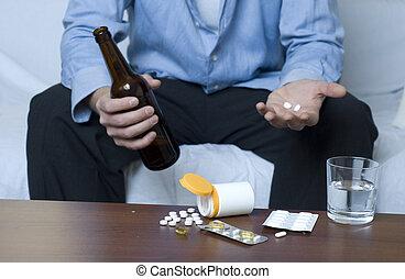 drogas, alcohol