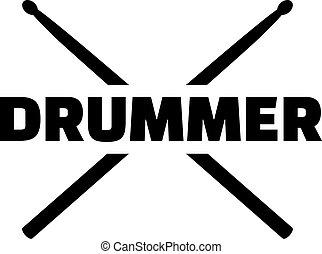 Drum se queda con la palabra baterista