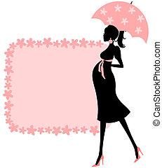 Ducha de bebé (pink)