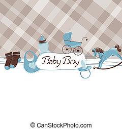 Ducha de bebé vector