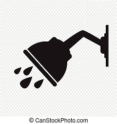 ducha, icono