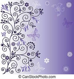 Dulces antecedentes violetas