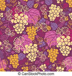 Dulces viñedos de uva, patrones de fondo