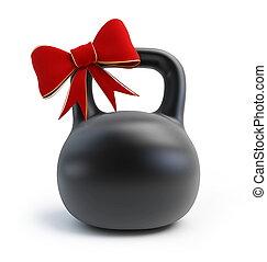 dumbbell, pesas, regalo