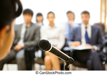 Durante el discurso