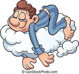 Durmiendo en una nube