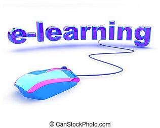 E aprendiendo texto con ratón