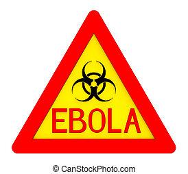 ebola, biohazard, señal