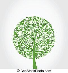 ecología, árbol