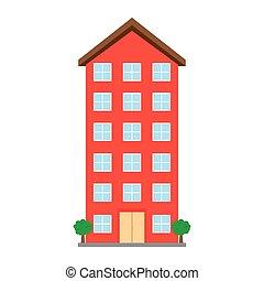 Edificio aislado