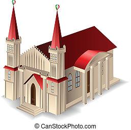 Edificio antiguo de la iglesia