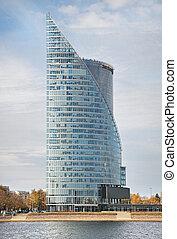 Edificio bancario en riga
