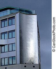 Edificio de aluminio