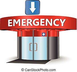 Edificio de emergencia