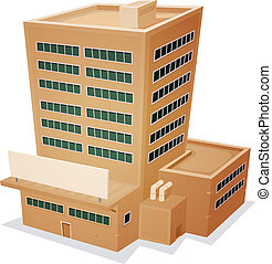 Edificio de fábricas