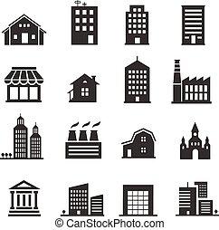 Edificio de iconos
