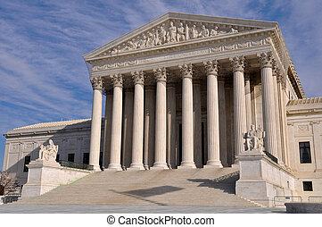 Edificio de la Corte Suprema en Washington DC