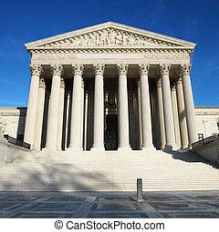 Edificio de la Corte Suprema.