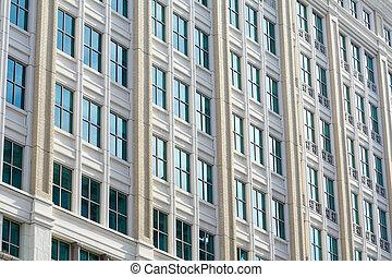 Edificio de oficinas modernas de Washington DC USA