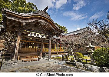 Edificio de santuarios japoneses