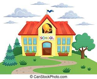 Edificio escolar imagen 2
