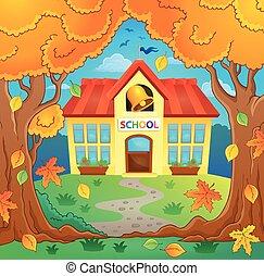 Edificio escolar imagen 4
