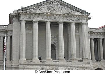 edificio, gobierno