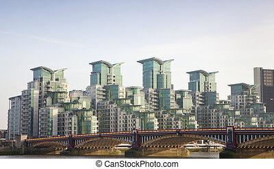 Edificio moderno en Londres