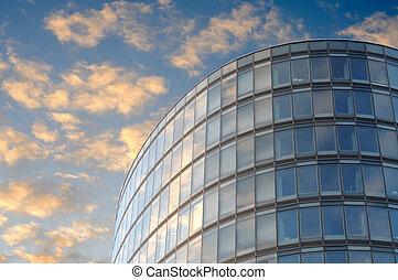 Edificio ovalado en Bruselas