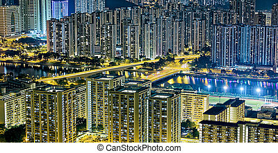 Edificio residencial en Hong Kong