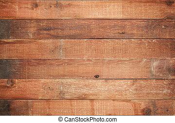 Edificio rojo de madera