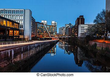 Edificio urbano Manchester