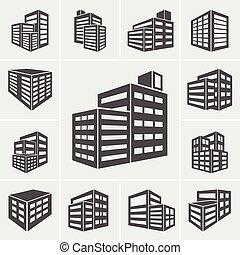 Edificio vector de ilustración