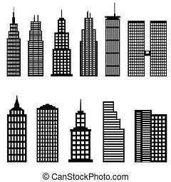 Edificios altos y rascacielos