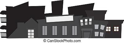 Edificios de fondo