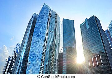 Edificios de oficina, Singapur