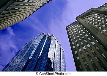 Edificios de oficinas del centro