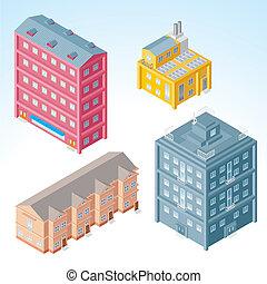 Edificios Isometricos 2