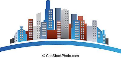 Edificios logotipo