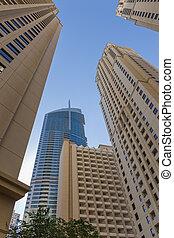 Edificios modernos en Dubai