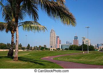 Edificios modernos en Dubai UAE
