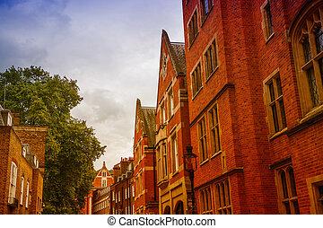 Edificios tradicionales y arquitectura de Londres