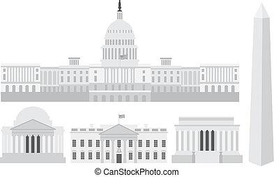 Edificios y monumentos de Washington DC