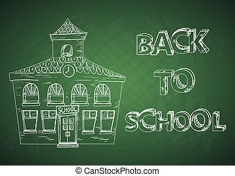 Educación de vuelta a la escuela.