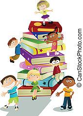 educación, niños