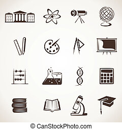 educativo, icono
