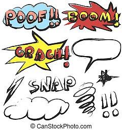 Efectos de sonido de Doodle