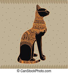 egipto, gato