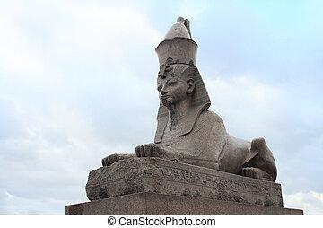 egipto, granito, esfinge